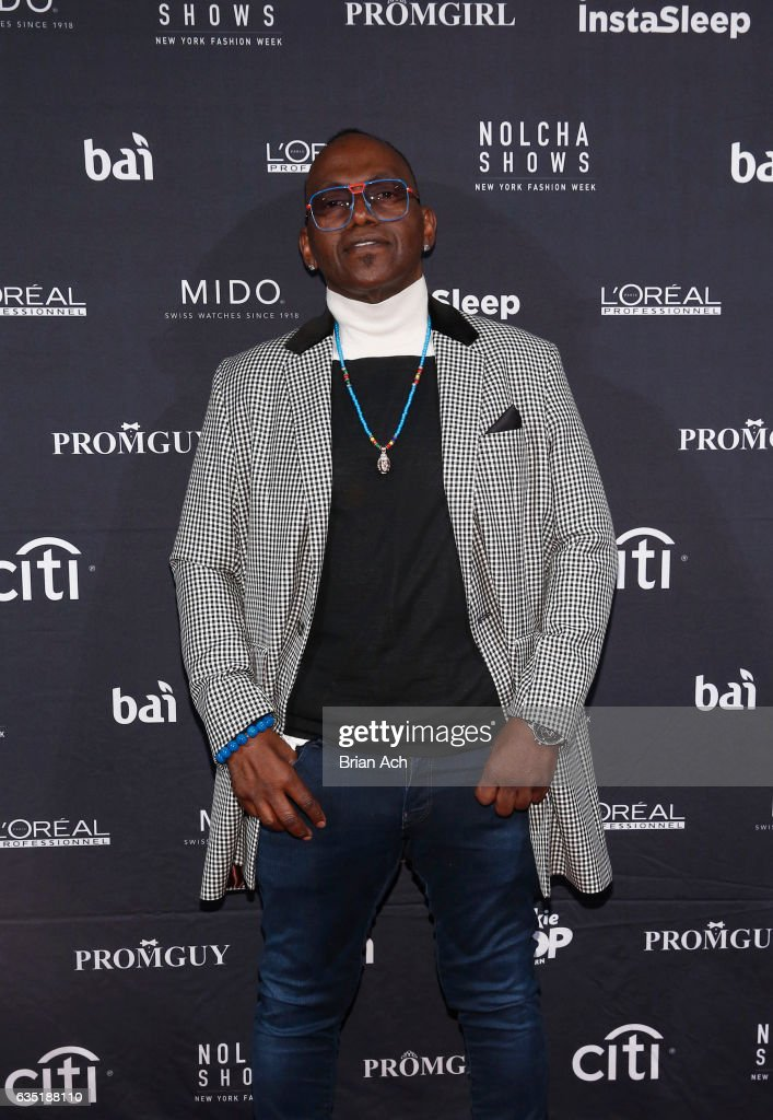 Producer Randy Jackson attends Nolcha Shows Runway New York Fashion Week Fall Winter 2017 at ArtBeam on February 13, 2017 in New York City.