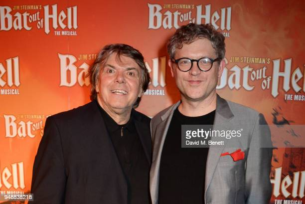 Producer Randy Lennox and director Jay Scheib attend the Gala Night after party for 'Bat Out Of Hell The Musical' at the Bloomsbury Ballroom on April...