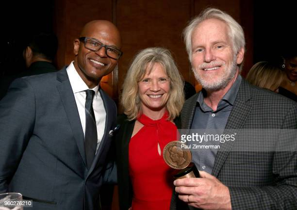 Producer Raymond Lambert and director Bob Hercules attend The 77th Annual Peabody Awards Ceremony After Party at Cipriani Wall Street on May 19 2018...