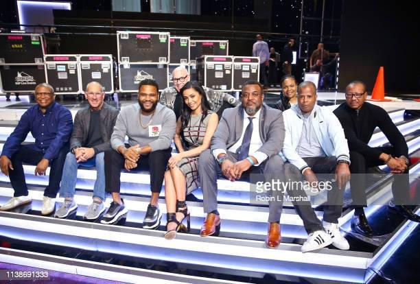 Producer Reggie Hudlin TV Producer Philip Gurin Actor Anthony Anderson Production Designer Joe Stewart Actress Meta Golding NAACP Executive Malik...