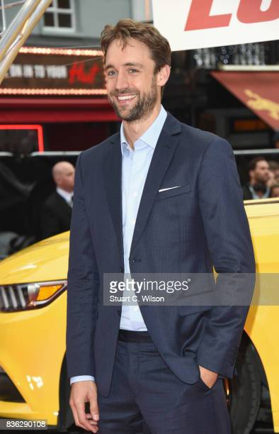 Producer Reid Carolin arriving at the 'Logan Lucky' UK premiere held at Vue West End on August 21 2017 in London England