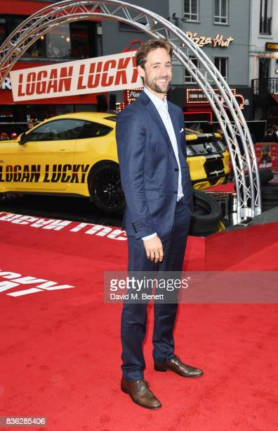Producer Reid Carolin attends the Logan Lucky UK Premiere at Vue West End on August 21 2017 in London England