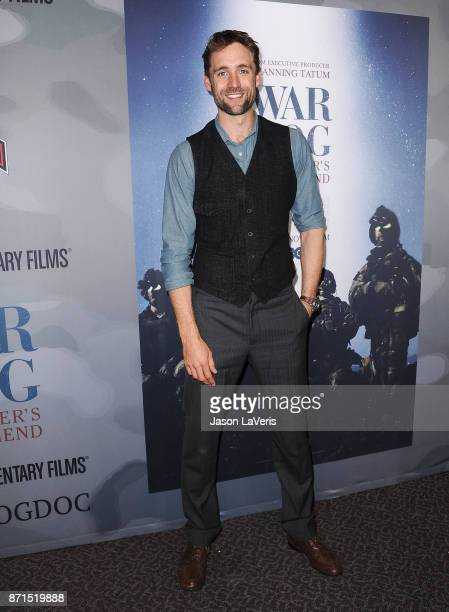 Producer Reid Carolin attends the premiere of War Dog A Soldier's Best Friend at Directors Guild Of America on November 6 2017 in Los Angeles...