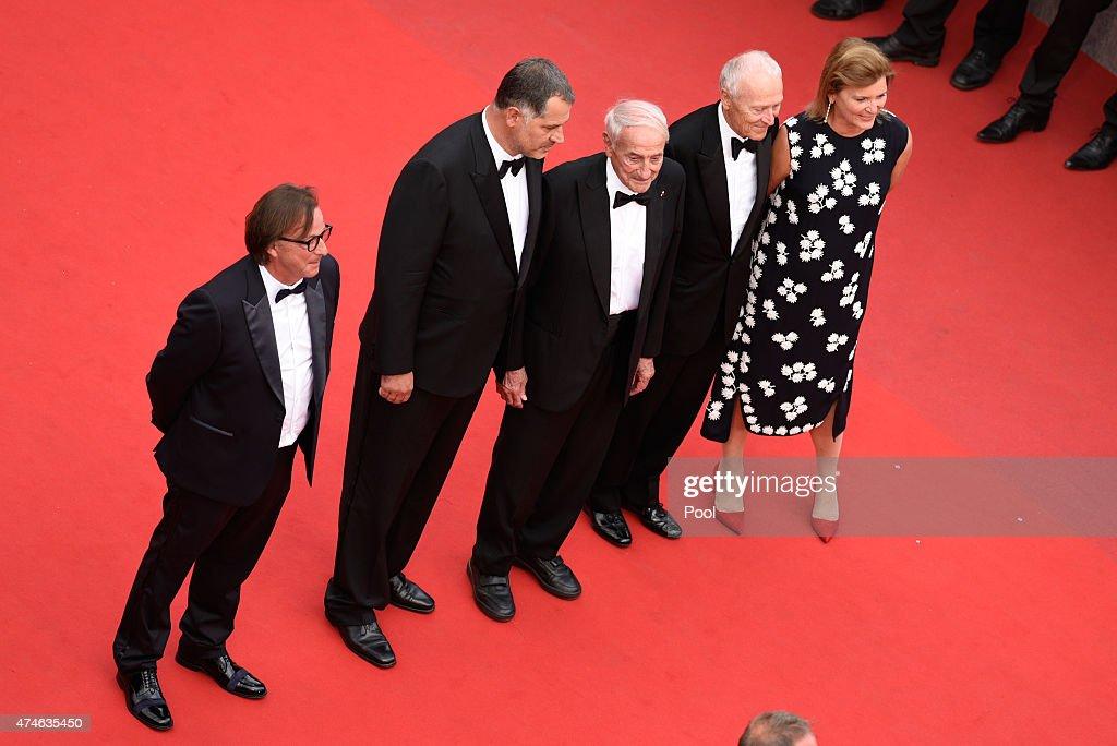 "Closing Ceremony And ""Le Glace Et Le Ciel"" Premiere - The 68th Annual Cannes Film Festival"