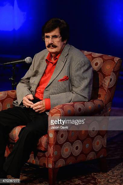 Producer Rick Hall speaks at 'The Man From Muscle Shoals Rick Hall in Conversation with Peter Guralnick' at Country Music Hall of Fame and Museum on...