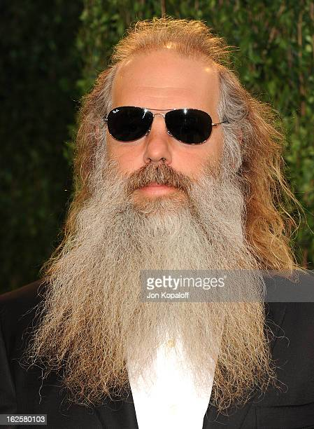 Producer Rick Rubin attends the 2013 Vanity Fair Oscar party at Sunset Tower on February 24 2013 in West Hollywood California