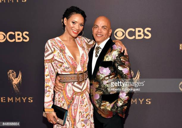 Producer Rickey Minor and Rachel Montez Minor attend the 69th Annual Primetime Emmy Awards at Microsoft Theater on September 17 2017 in Los Angeles...