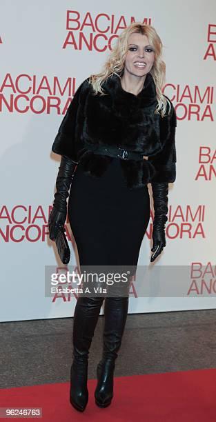 Producer Rita Rusic attends the premiere of 'Baciami Ancora' at Auditorium Conciliazione on January 28 2010 in Rome Italy