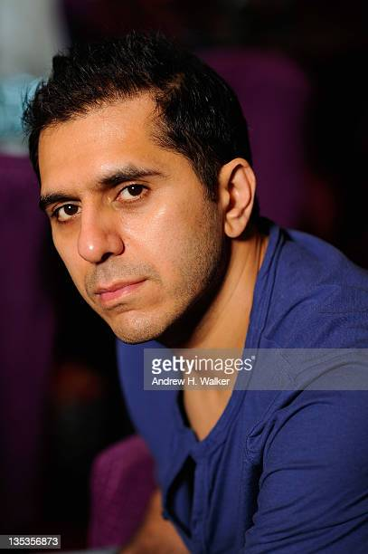 Producer Ritesh Sidhwani poses during a portrait session at the 8th Annual Dubai International Film Festival held at the Madinat Jumeriah Complex on...