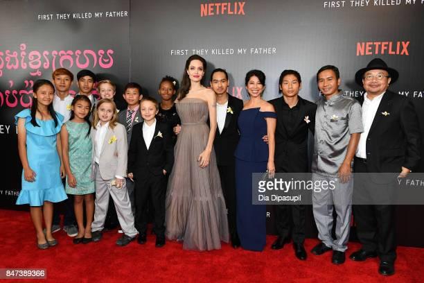 Producer Rithy Panh Kompheak Phorung Pax JoliePitt writer Loung Ung Maddox JoliePitt director/writer/producer Angelina Jolie Zahara JoliePitt Knox...