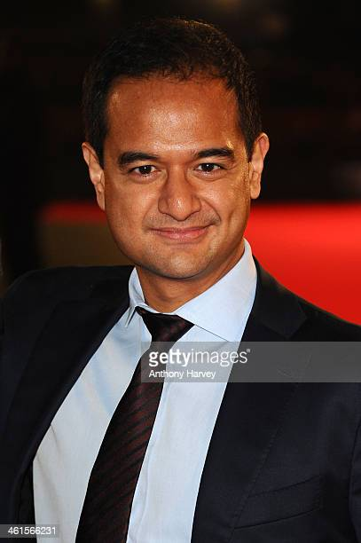 Producer Riza Aziz attends the UK Premiere of The Wolf of Wall Street at London's Leicester Square on January 9 2014 in London England