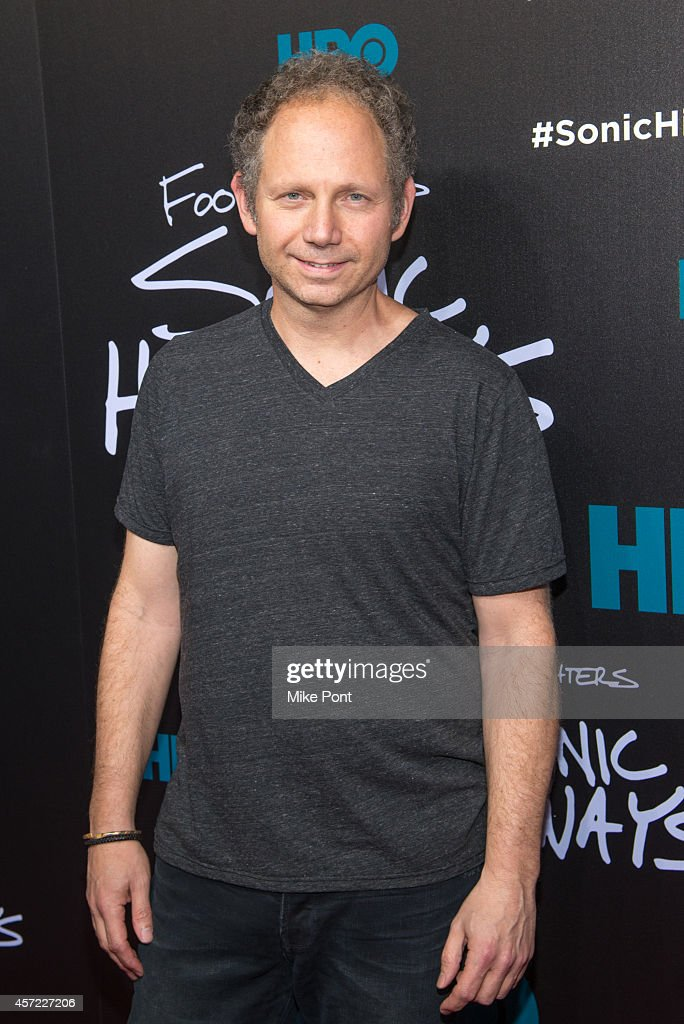 Producer Rob Burnett attends the 'Foo Fighters: Sonic Highways' New York Premiere at Ed Sullivan Theater on October 14, 2014 in New York City.