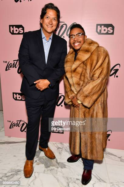 Producer Robert Enriquez and Allen Maldonado attend 'The Last OG' New York Premiere at The William Vale on March 29 2018 in New York City