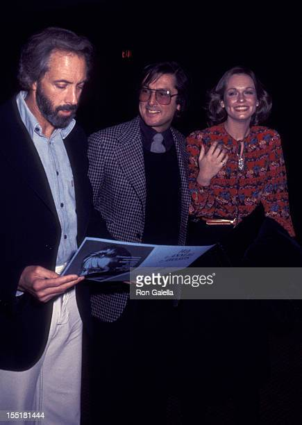 Producer Robert Evans and Phyllis George attend 14th Annual Publicists Guild of America Awards on March 25 1977 at the Bonaventure Hotel in Los...