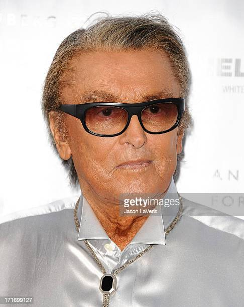 Producer Robert Evans attends the opening of 'Helmut Newton White Women Sleepless Nights Big Nudes' at Annenberg Space For Photography on June 27...