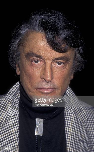 Producer Robert Evans attends the world premiere of Showgirls on September 21 1995 at the Academy Theater in Beverly Hills California