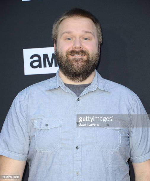 Producer Robert Kirkman attends the 100th episode celebration off 'The Walking Dead' at The Greek Theatre on October 22 2017 in Los Angeles California