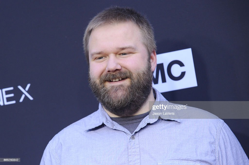 Producer Robert Kirkman attends the 100th episode celebration off 'The Walking Dead' at The Greek Theatre on October 22, 2017 in Los Angeles, California.