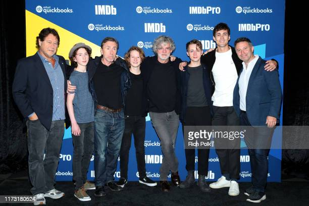 Producer Robert Lantos actors Luke Doyle Tim Roth Misha Handley director Francois Girard actors Gerran Howell and Jonah HauerKing attend The IMDb...