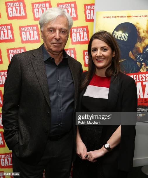 Producer Robert Magid and Julie Hazan attend Eyeless In Gaza NYC Premiere Screening on February 8 2017 in New York City