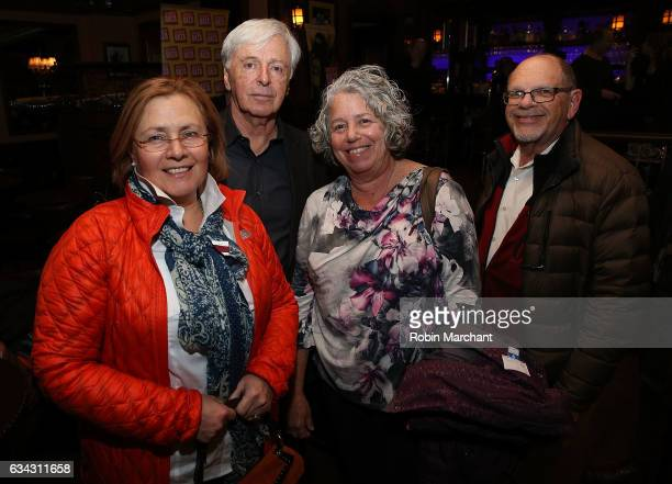 Producer Robert Magid with guest attend Eyeless In Gaza NYC Premiere Screening After Party on February 8 2017 in New York City