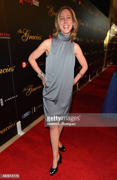 Producer Robin Sindler arrives to the 39th Gracie Awards Gala at The Beverly Hilton Hotel on May 20 2014 in Beverly Hills California