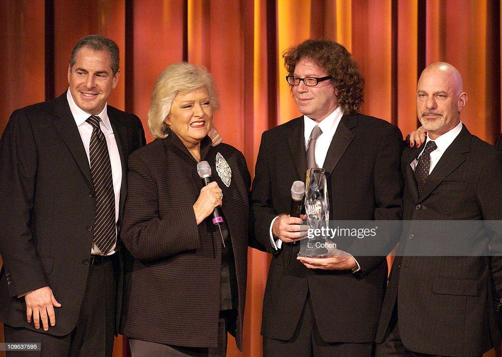 Producer Roger Birnbaum, BMI'S Frances W. Preston, Richard Kirk Award recipient Randy Edelman,Director Rob Cohen