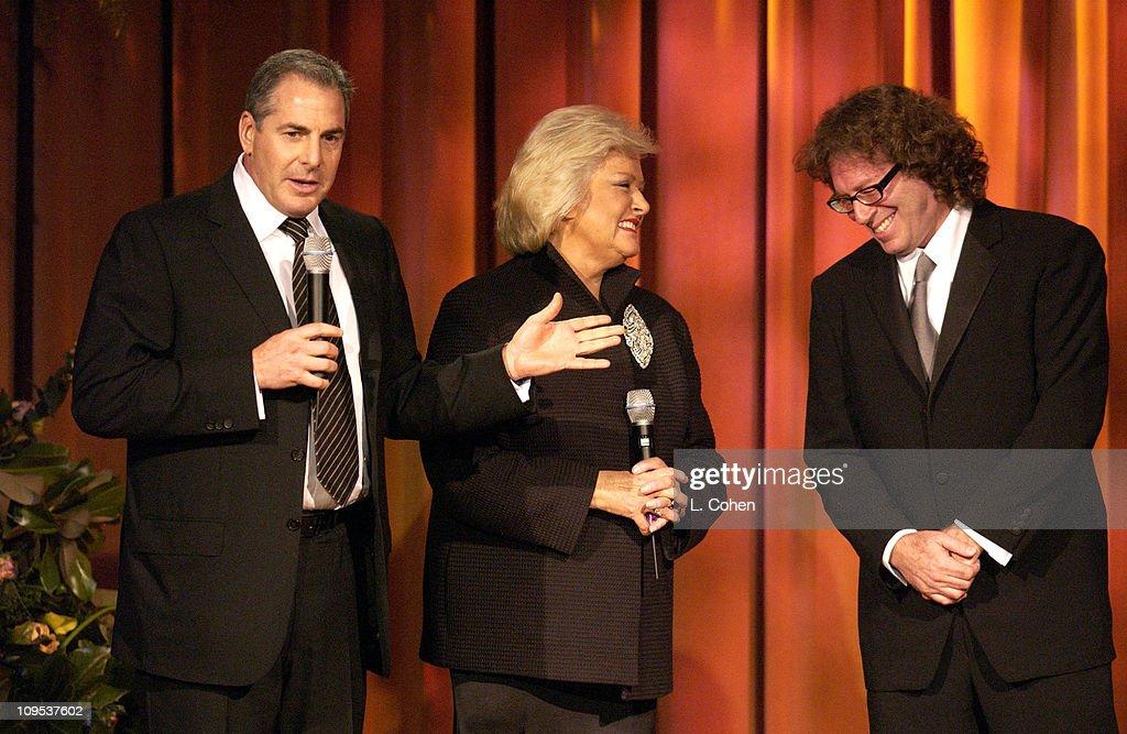 Producer Roger Birnbaum, BMI'S Frances W. Preston, Richard Kirk Award recipient Randy Edelman
