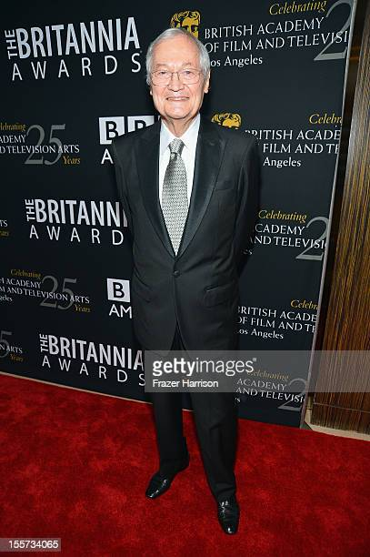Producer Roger Corman arrives at the 2012 BAFTA Los Angeles Britannia Awards Presented By BBC AMERICA at The Beverly Hilton Hotel on November 7 2012...