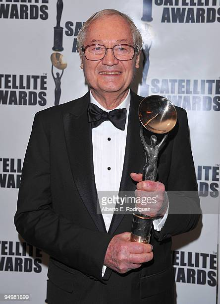 Producer Roger Corman receives the Auteur Award at the International Press Academy's 14th Annual Satellite Awards on December 20 2009 in Los Angeles...