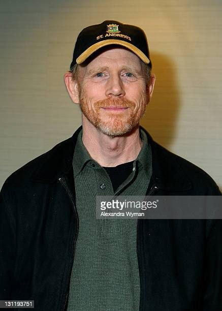 Producer Ron Howard attends 2011 American Film Market Day 1 Ron Howard attends AFM to meet with buyers for his Epic Formula 1 film RUSH held at Casa...