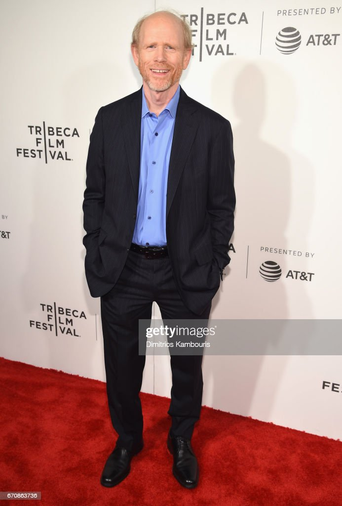Producer Ron Howard attends the 'Genius' Premiere during the 2017 Tribeca Film Festival at BMCC Tribeca PAC on April 20, 2017 in New York City.