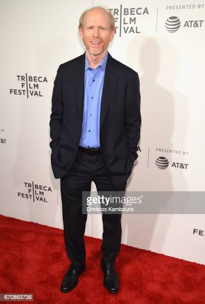 Producer Ron Howard attends the 'Genius' Premiere during the 2017 Tribeca Film Festival at BMCC Tribeca PAC on April 20 2017 in New York City