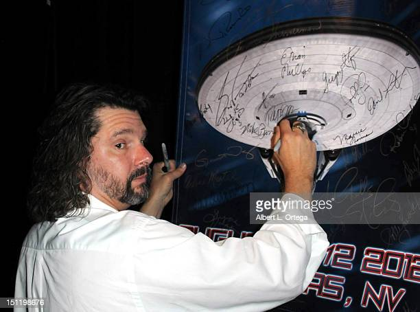 Producer Ron Moore participates in the 11th Annual Official Star Trek Convention - day 3 held at the Rio Hotel & Casino on August 11, 2012 in Las...