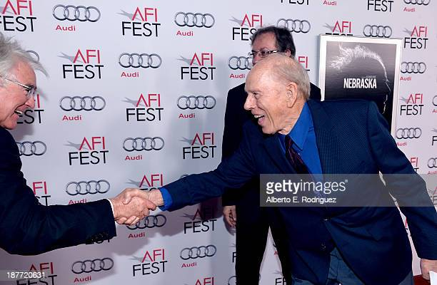 Producer Ron Yerxa and actor Rance Howard attend the screening of 'Nebraska' during AFI FEST 2013 presented by Audi at TCL Chinese Theatre on...