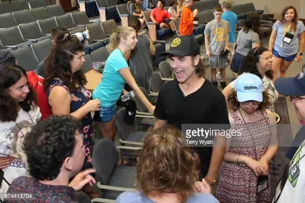 Producer Ross Copperman joins ACM Lifting Lives campers during ACM Lifting Lives Music Camp Songwriting Workshop at Vanderbilt University on June 14...