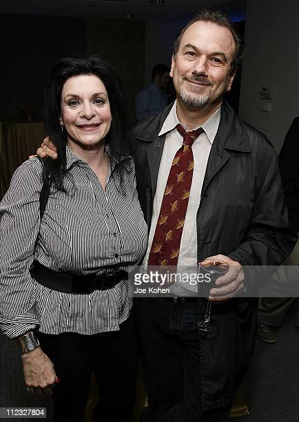 Producer Russ Titelman and publicist Ellyn Harris attend the New York Chapter of the National Academy of Recording Arts and Sciences Open House...