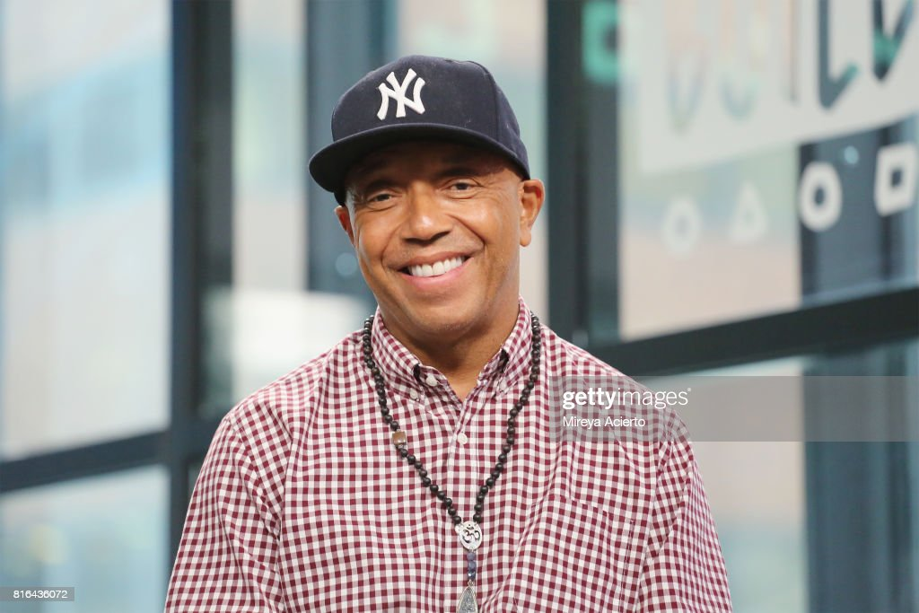Producer Russell Simmons visits Build to discuss the film, 'Romeo Is Bleeding' at Build Studio on July 17, 2017 in New York City.
