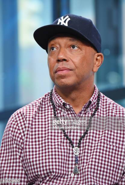 Producer Russell Simmons visits the Build Series to discuss the movie 'Romeo Is Bleeding' at Build Studio on July 17 2017 in New York City