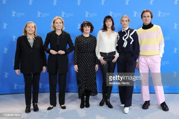 Producer Ruth Waldburger Marthe Keller directors Stephanie Chuat and Veronique Reymond Nina Hoss and Lars Eidinger pose at the My Little Sister photo...