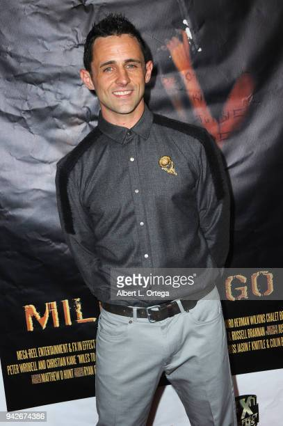 Producer Ryan Betzler arrives for the Los Angeles Premiere of 'Miles To Go' held at Writers Guild Theater on April 5 2018 in Beverly Hills California