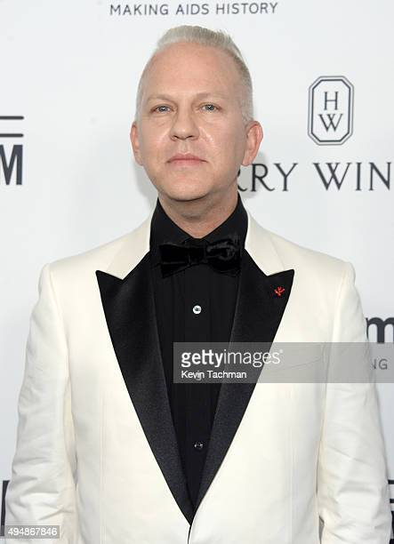 Producer Ryan Murphy arrives at the amfAR Inspiration Gala at Milk Studios on October 29 2015 in Hollywood California