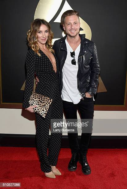 Producer Ryan Tedder and guest attend The 58th GRAMMY Awards at Staples Center on February 15 2016 in Los Angeles California