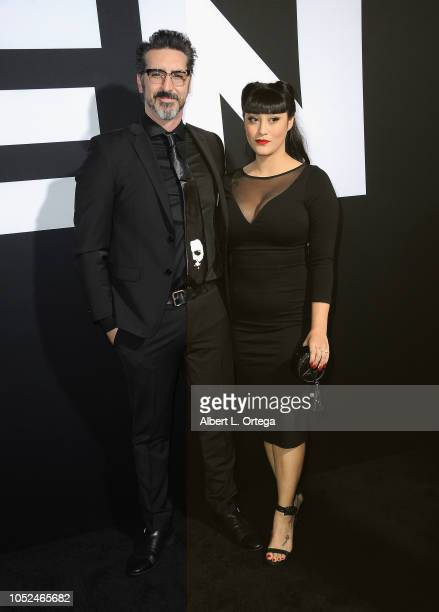 Producer Ryan Turek and Dellamorte Dellamore arrive for the Universal Pictures' 'Halloween' Premiere held at TCL Chinese Theatre on October 17 2018...
