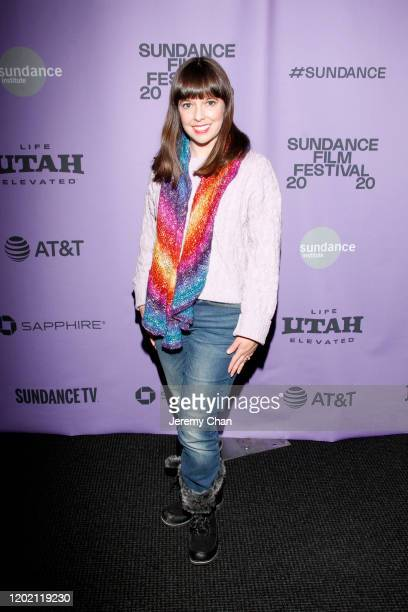 Producer Sabrina Parke attends the 2020 Sundance Film Festival Documentary Shorts Program 2 at Temple Theater on January 26 2020 in Park City Utah