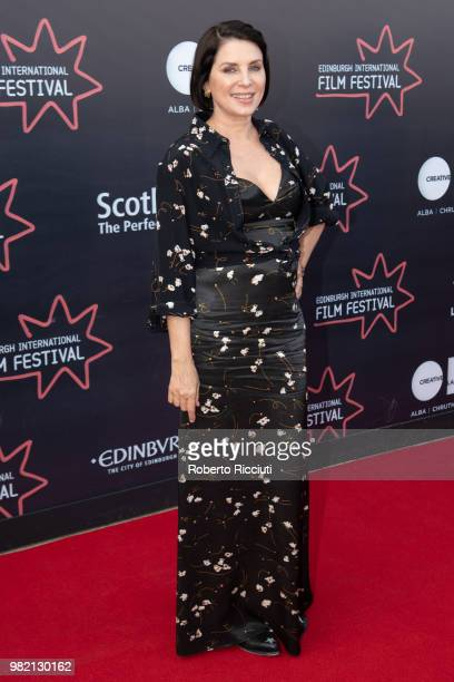 Producer Sadie Frost attends a photocall for the World Premiere of 'Two for joy' during the 72nd Edinburgh International Film Festival at Cineworld...