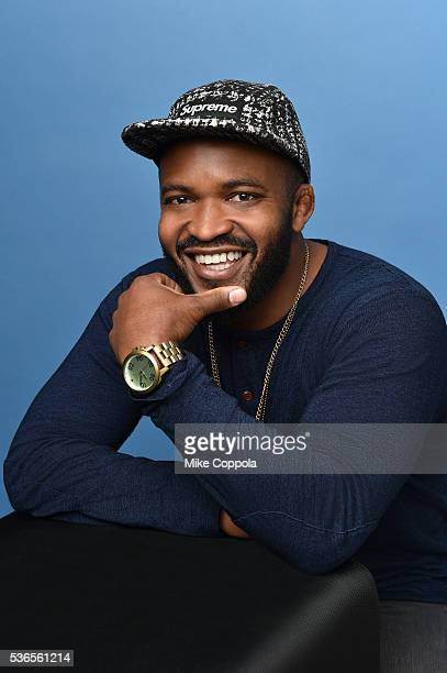 Producer Sal Masekela poses for a portrait at the Tribeca Film Festival on April 14 2016 in New York City