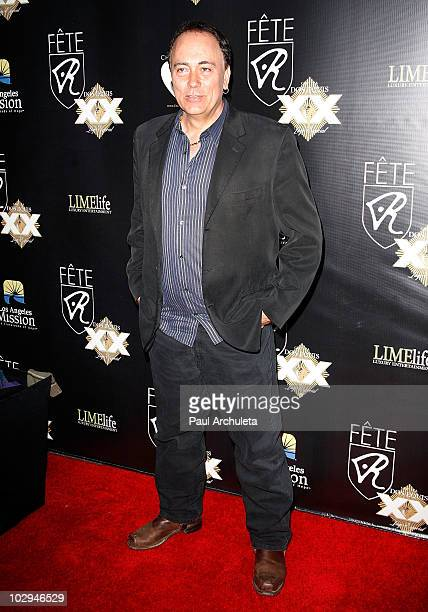 Producer Sal Tassone arrives at the 2010 HollyShorts film festival - FETE Networking Event at The Kress on July 16, 2010 in Hollywood, California.