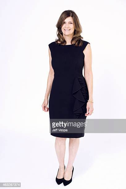 Producer Sandra Adair poses for a portraits at the 87th Academy Awards Nominee Luncheon at the Beverly Hilton Hotel on February 2 2015 in Beverly...