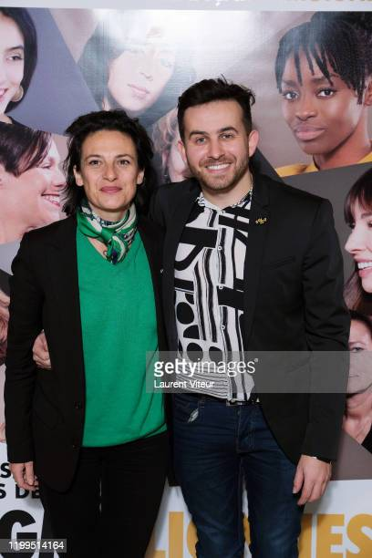 Producer Sandrine Braeur and Director Quentin Delcourt attend the Pygmalionnes Screening At Assemblee Nationale on January 14 2020 in Paris France